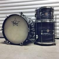 70's Star Drumkit - Blue Ripple