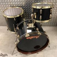 70's Orange London- Trident Drumkit - Black Finish